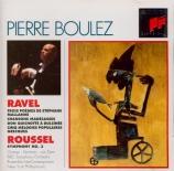 RAVEL - Boulez - Trois poèmes de Stéphane Mallarmé, pour voix et orchest