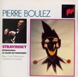 STRAVINSKY - Boulez - Le sacre du printemps, ballet pour orchestre