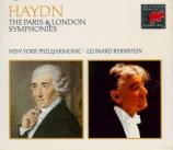 Symphonies parisiennes et londoniennes
