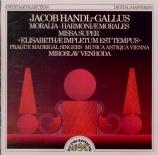 HANDL-GALLUS - Venhoda - Harmonae morales : extraits