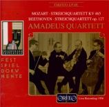 MOZART - Amadeus Quartet - Quatuor à cordes n°19 en do majeur K.465