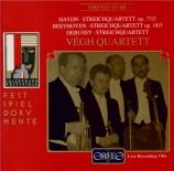 HAYDN - Vegh Quartet - Quatuor à cordes n°82 en fa majeur op.77 n°2 Hob