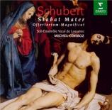 SCHUBERT - Corboz - Stabat Mater en fa, motet pour solistes, chœur et or