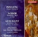POULENC - Tortelier - Concerto pour orgue, timbales et cordes en sol min