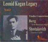 Leonid Kogan Legacy Vol.1