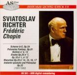 CHOPIN - Richter - Scherzo pour piano n°4 en mi majeur op.54