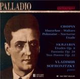 CHOPIN - Sofronitsky - Mazurka pour piano op.67 n°4