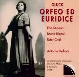 GLUCK - Pedrotti - Orfeo ed Euridice (version italienne) Live Rai 8 - 01 - 1956