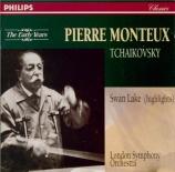 TCHAIKOVSKY - Monteux - Lac des Cygnes (Le) op.20 : extraits