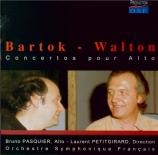 BARTOK - Petitgirard - Concerto pour alto et orchestre Sz.120 BB.128 (fr