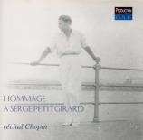 Hommage à Serge Petitgirard (Récital Chopin)