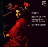 PURCELL - Gilbert - Suite pour clavecin n°1 en sol majeur Z.660