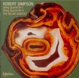 SIMPSON - Delmé String Qu - Quatuor à cordes n°1