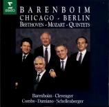 MOZART - Barenboim - Quintette pour piano, hautbois, clarinette, cor et