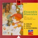 EISLER - Ensemble Stanis - Septuor n°1