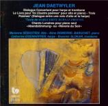 DAETWYLER - Sébastien - Dialogue concertant, pour harpe et trombone