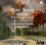 MARAIS - Savall - Alcyone : suite pour orchestre