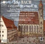 BACH - Coin - Schmücke dich, o liebe Seele, cantate pour solistes, choeur