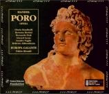 HAENDEL - Biondi - Poro, re dell'Indie, opéra en 3 actes HWV.28