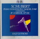 SCHUBERT - Gothoni - Sonate pour piano en do majeur D.840 'Reliquie' (tr