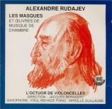 RUDAJEV - Octuor de violo - Lentissimo, pour violoncelle