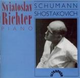 SCHUMANN - Richter - Waldszenen (Scènes de la forêt), pour piano op.82