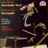 BRAHMS - Smetacek - Sérénade pour orchestre n°2 op.16