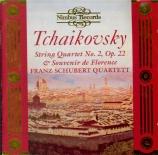 TCHAIKOVSKY - Franz Schubert - Quatuor à cordes n°2 en fa majeur op.22
