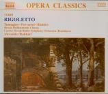 VERDI - Rahbari - Rigoletto, opéra en trois actes