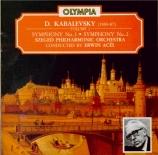 KABALEVSKI - Acel - Symphonie n°1 op.18