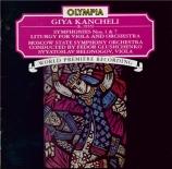 KANCHELI - Glushchenko - Symphonie n°1