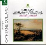 SCHUMANN - Collard - Arabeske, pour piano en do majeur op.18