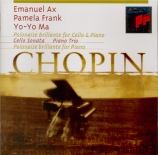 CHOPIN - Ax - Introduction and Polonaise brillante, pour violoncelle et