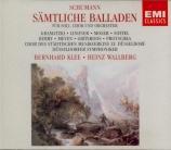 Intégrale des ballades pour soli, choeur et orchestre