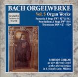 Organ Works vol.5  Ahrend Organ of the Basilika in San Simpliciano, Milano