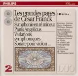 FRANCK - Grumiaux - Sonate pour piano et violon en la majeur FWV.8