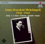 BACH - Michelangeli - Concerto italien BWV 971