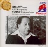 DEBUSSY - Monteux - La mer, trois esquisses symphoniques pour orchestre