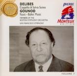 DELIBES - Monteux - Coppélia : suite de ballet