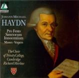HAYDN - Marlow - Missa Sancti Aloysii