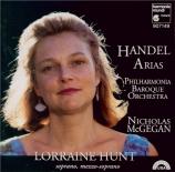 HAENDEL - Hunt - Airs d'opéras