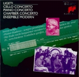 LIGETI - Perenyi - Concerto pour violoncelle