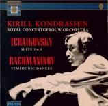 TCHAIKOVSKY - Kondrashin - Suite pour orchestre n°3 en sol majeur op.55