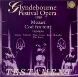 Glyndebourne Festival Opera 1950