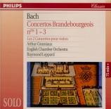 BACH - Leppard - Concerto brandebourgeois n°1 BWV 1046