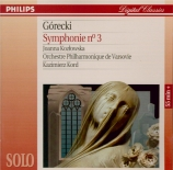 GORECKI - Kord - Symphonie n°3 op.36 'Symphony of sorrowful songs'