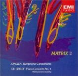 JONGEN - Prêtre - Symphonie concertante pour orgue et orchestre op.81
