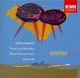 STENHAMMAR - Westerberg - Concerto pour piano n°2 en ré mineur op.23