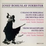 FOERSTER - Smetacek - From Shakespeare, suite op.76