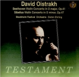 BEETHOVEN - Oistrakh - Concerto pour violon en ré majeur op.61